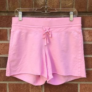 Babystyle Pink Maternity Shorts Below Belly Style